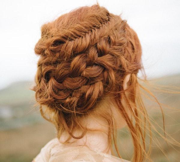 Peinados tendencia de la primavera verano: recogidos con trenzas