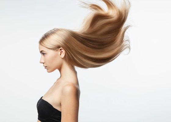Peinados tendencia de la primavera verano: melena ultra lisa