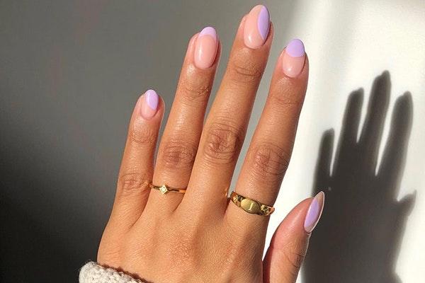 Manicuras de moda esta primavera: uñas pastel