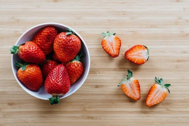 Fresas. Fruta de temporada