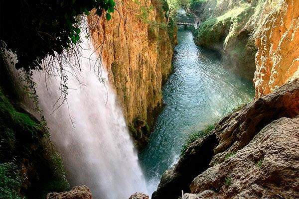 Cascada del Monasterio de Piedra. Fuente: Turismo de Aragón