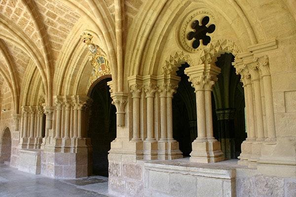 Interior del Monasterio de Piedra. Fuente: Turismo de Aragón