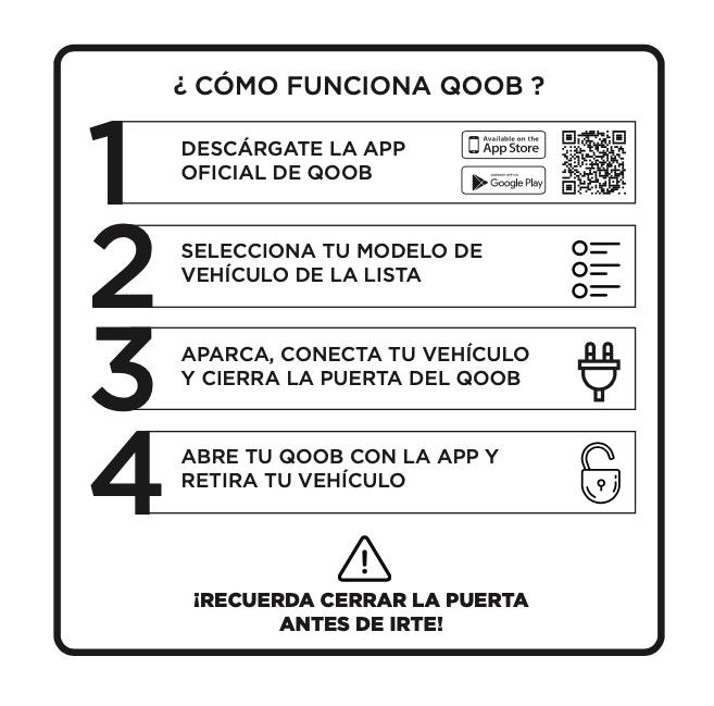 Instrucciones para cargar tu patinete eléctrico