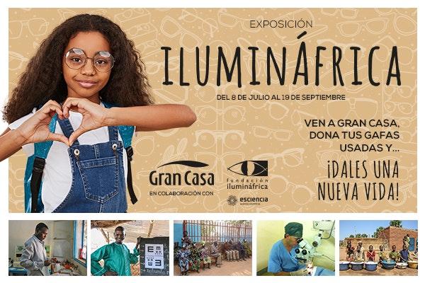 Inauguramos la exposición Ilumináfrica