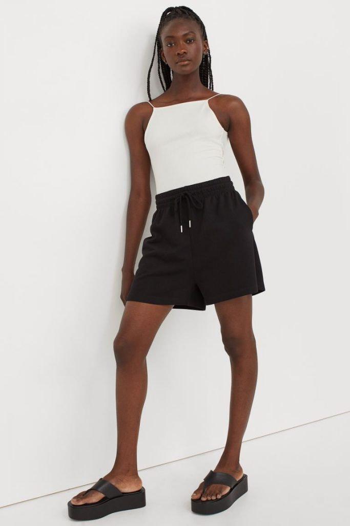 Pantalón chándal corto de H&M