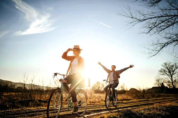 Rutas en bici al aire libre