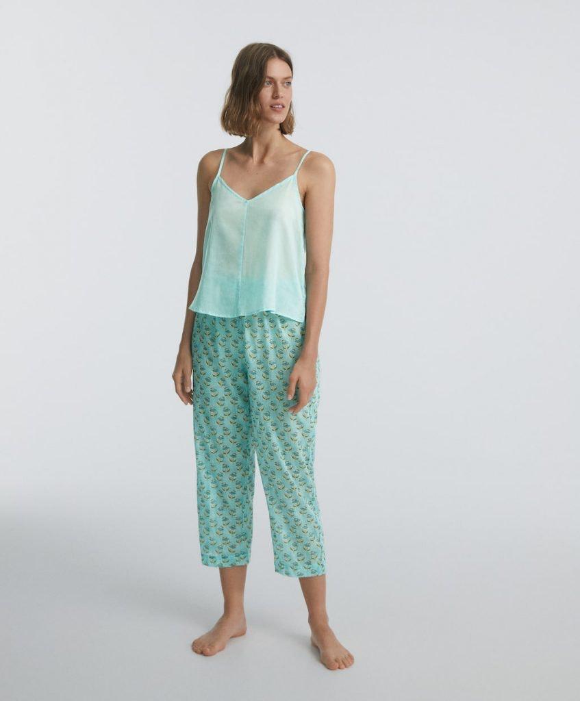Pijama algodón Oysho