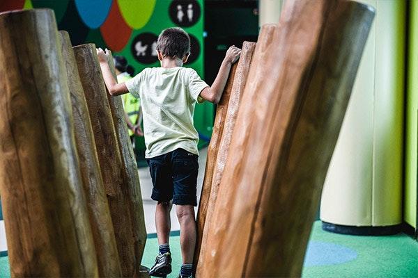 Los más pequeños vuelven a disfrutar del Playground de GranCasa