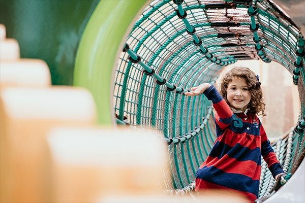 Los más pequeños vuelven a disfrutar del Playground