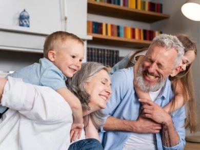 Abuelos y abuelas, os queremos