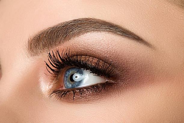 Ojos pintados con cooper smookey