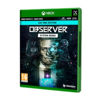 Juego Observer system de Xbox