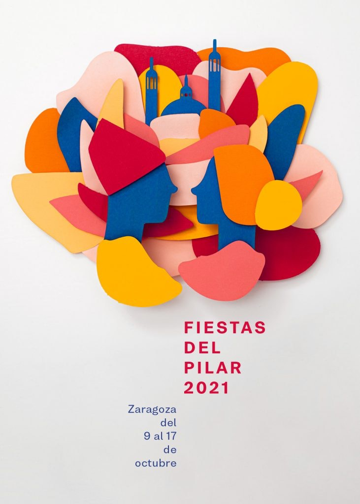 Cartel oficial de las Fiestas del Pilar 2021