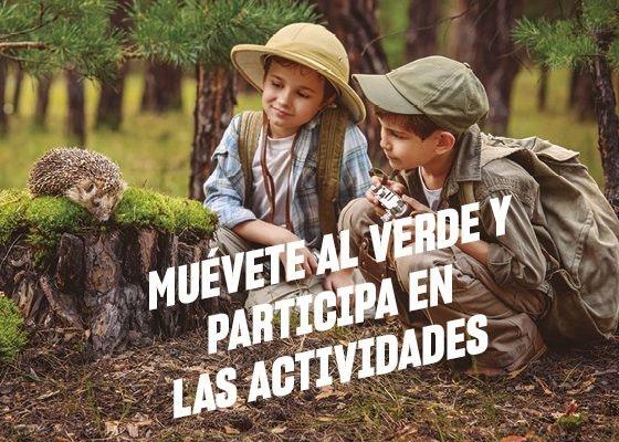¡Muévete al verde y participa en nuestras actividades!