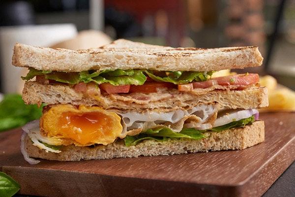 Sándwich casero