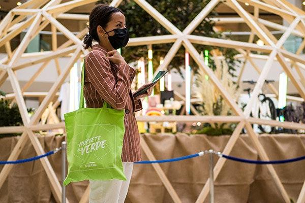 ¡Sorteamos 20 tote bags reutilizables de Muévete al verde!