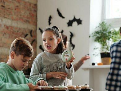 5 dulces de Halloween para preparar en familia
