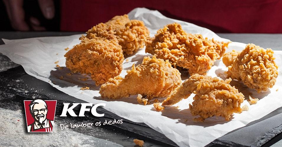 O KFC já chegou ao nosso Centro