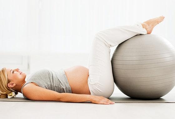 Está grávida? Venha fazer pilates ao nosso Centro!
