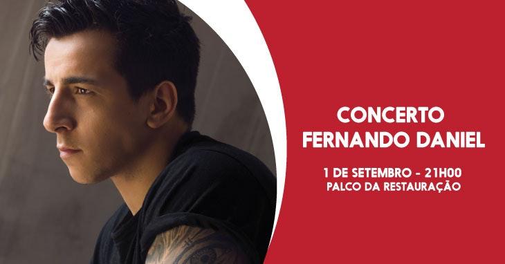 Fernando Daniel sobe ao palco do nosso Centro!