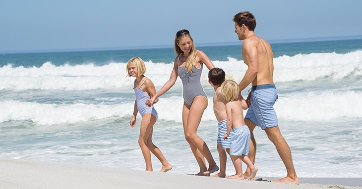 """""""Quem sai aos seus…"""": swimwear idêntica para miúdos e graúdos"""