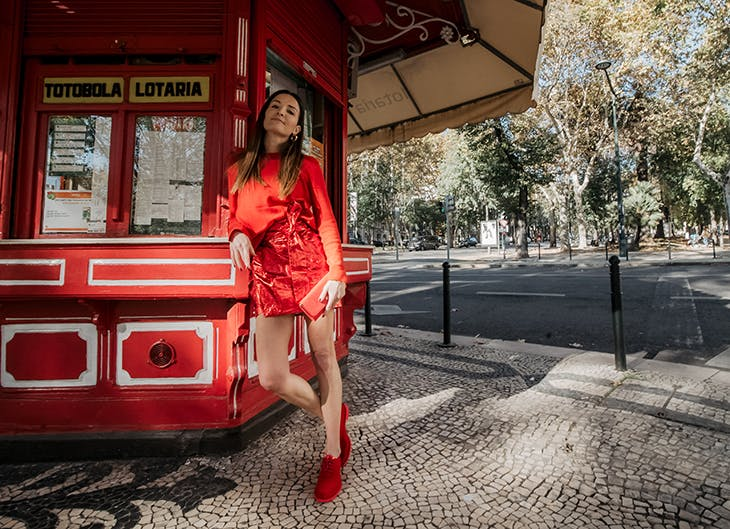 Maria Guedes: red, red, red!