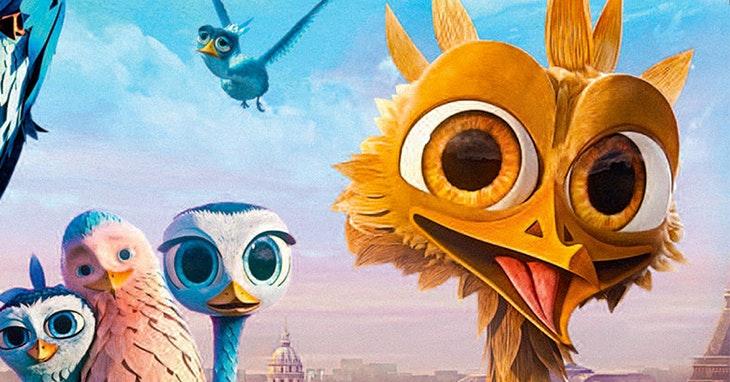 Amarelinho: o pássaro corajoso que voa até ao cinema