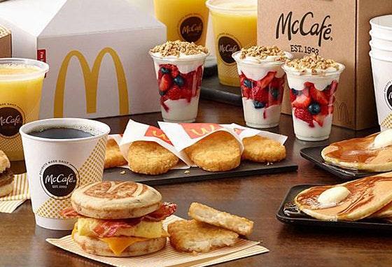 Tudo sobre o pequeno-almoço do McDonald's