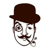 logotipo barbearia
