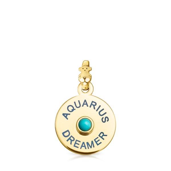 Aquário | Aquário de olho estrelado e generoso está ligado à força de Turquesa, uma pedra que purifica e estimula a intuição.
