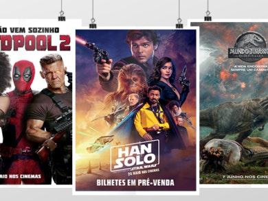 Três filmes para ver esta semana!