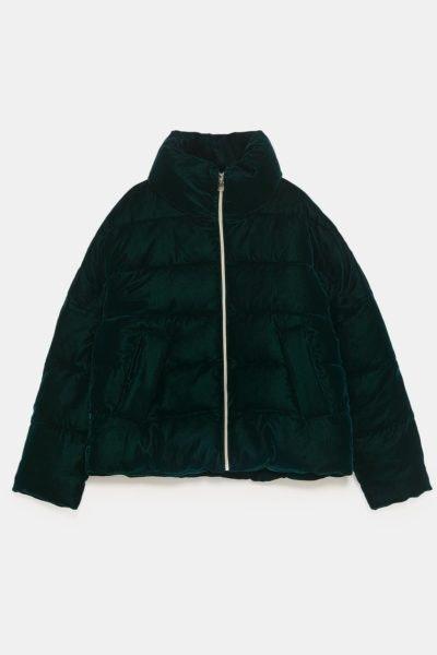 Blusão acolchoado, Zara, 59,95€