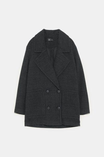 Casaco cruzado, Zara, 59,95€