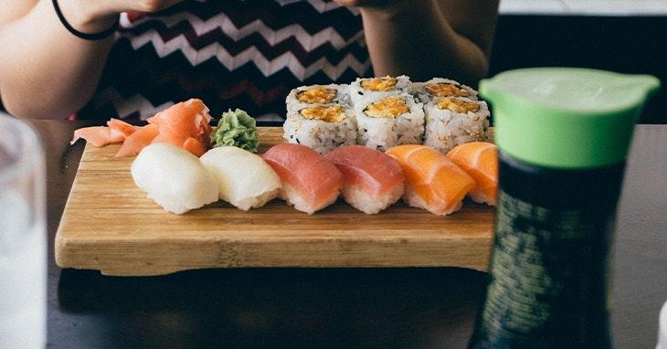 10 Mandamentos: Como comer Sushi