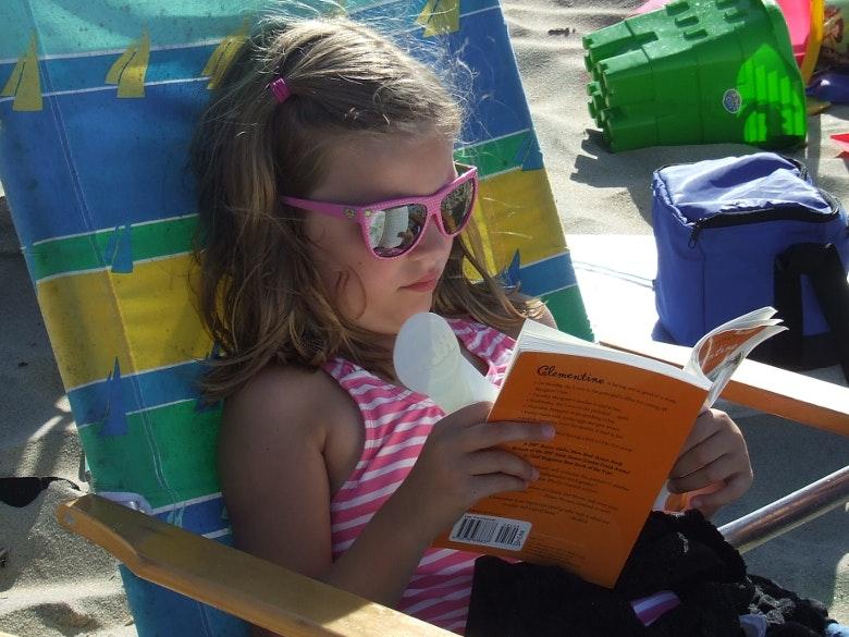 ler na praia