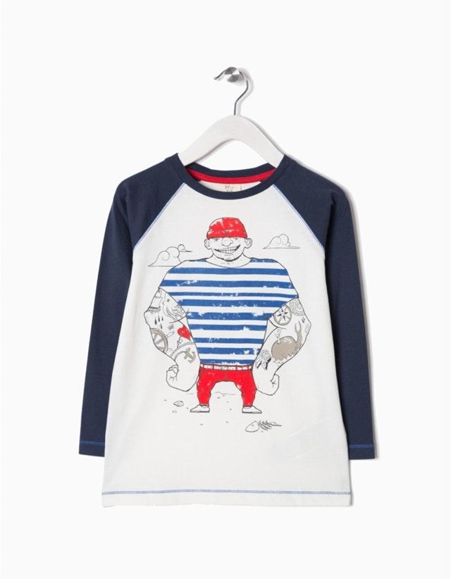 T-shirt comprida, 7,99€