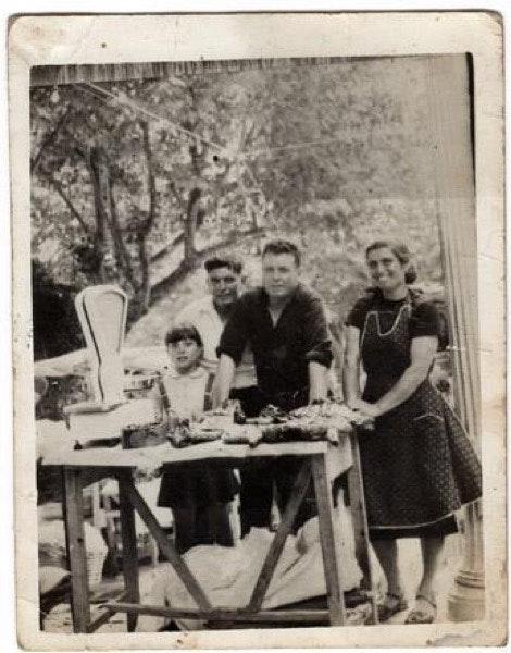 Alice e António em família