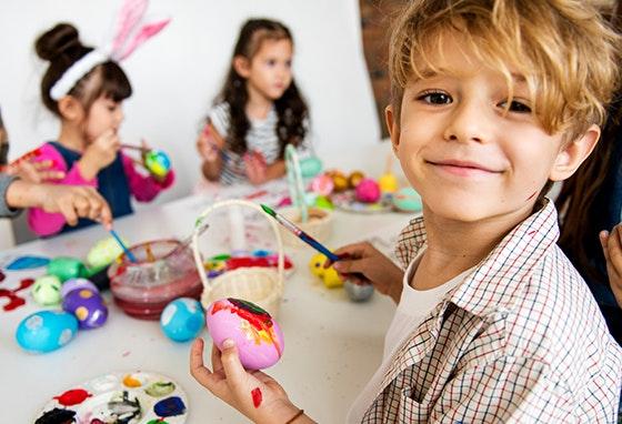 Mil e um programas para a Páscoa dos miúdos