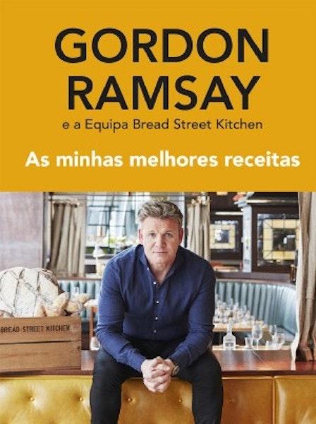 """""""As minhas melhores receitas"""" de Gordon Ramsay, 22,20€"""