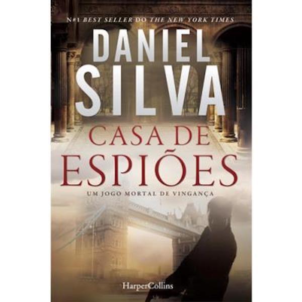 """""""Casa de Espiões"""" de Daniel Silva, 18,90€,"""