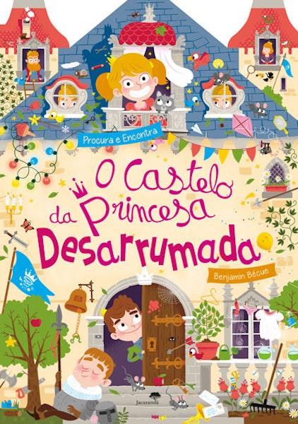 """O Castelo da Princesa Desarrumada"" de Benjamin Bécue, 12,95€"