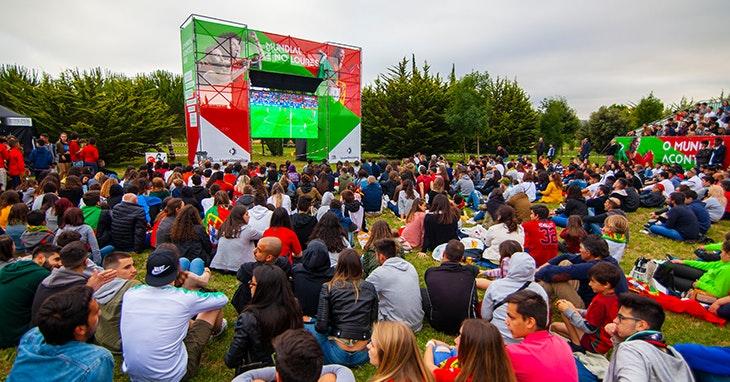 O Mundial vive-se no Parque Verde LoureShopping