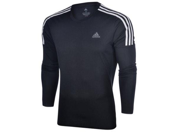 T-shirt manga comprida, Adidas, 29,99€, na Sport Zone