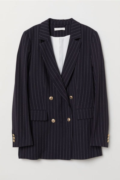 Blazer às riscas, H&M, 39,99€