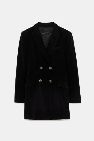 Blazer de veludo, Zara, 49,95€