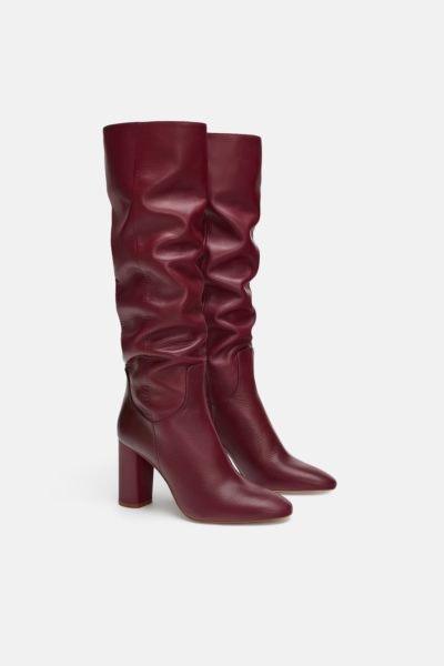 Botas cano alto, Zara, 99,95€