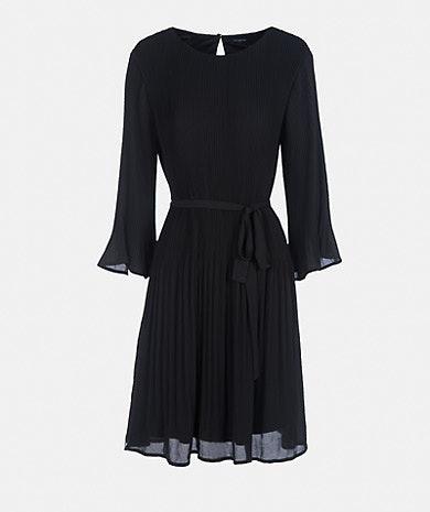 Vestido plissado, Lanidor, 89,90€