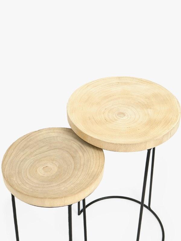Mesa de madeira, Zara Home, 99,99€