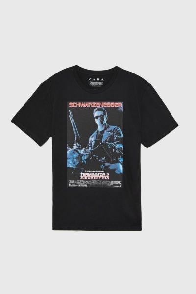 Se o seu namorado adora cinema e até sabe falas de cor, então vai adorar esta t-shirt. Zara, 15,95€