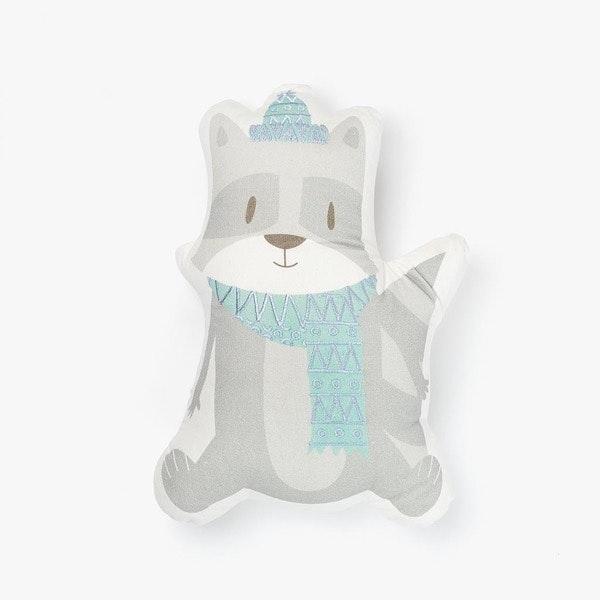 Almofada Alpha Winter Raccoon, A Loja do Gato Preto, 14,99€